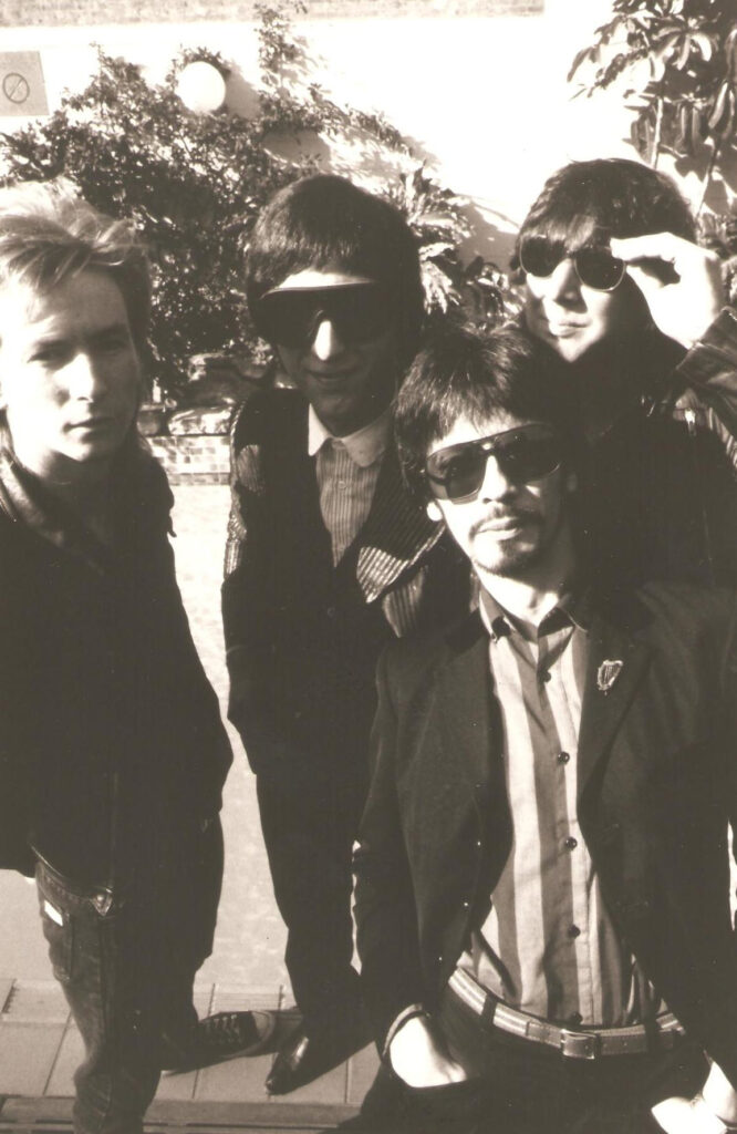 Ritratto dei Flaming Groovies. 1988