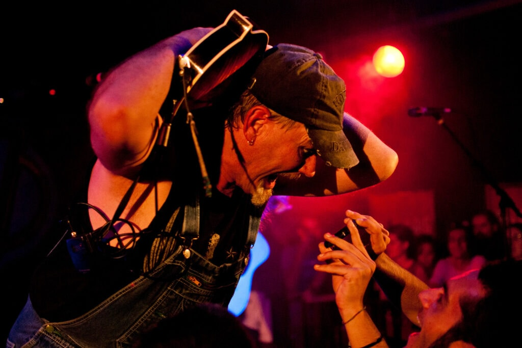 Hayseed Dixie in concerto. Ritratto