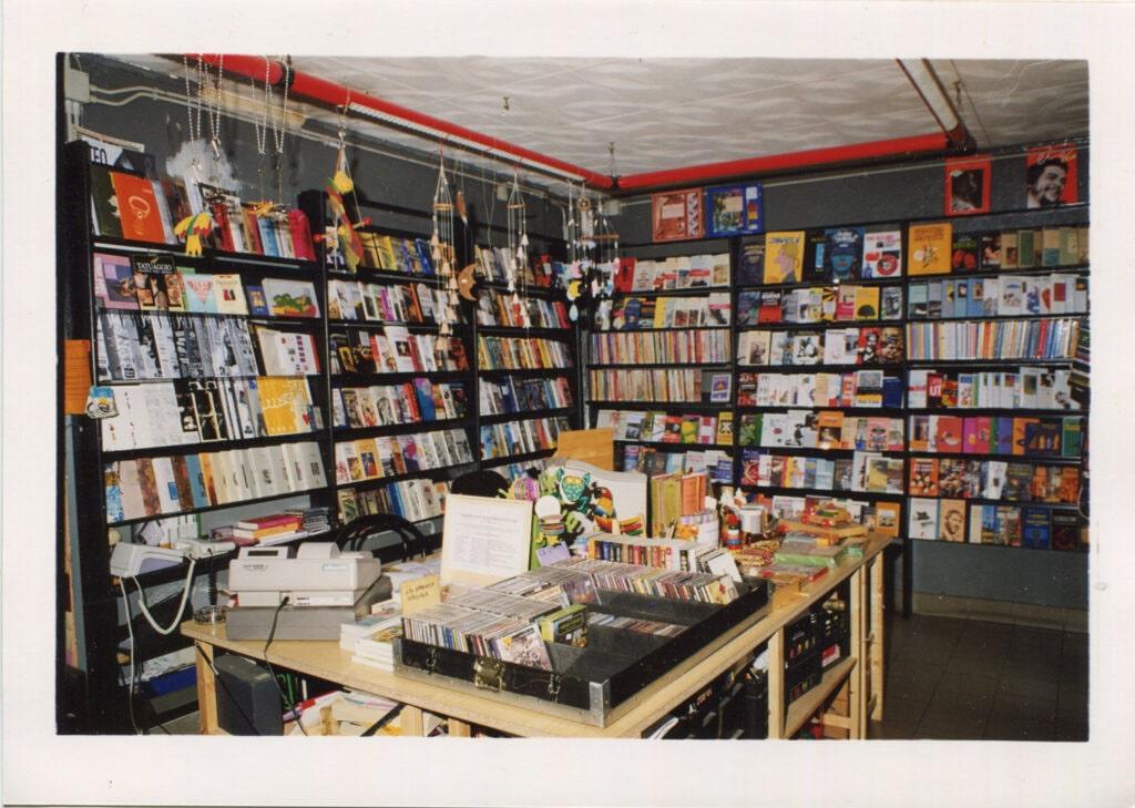 L'interno della libreria.1993