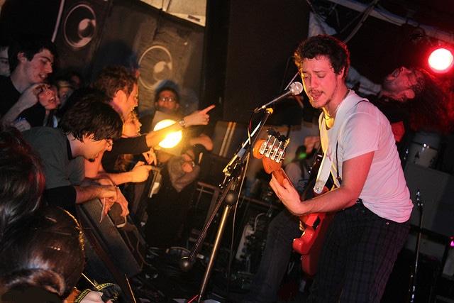Concerto dei Ministri. 2007. Una delle migliori band italiane di rock indipendente.
