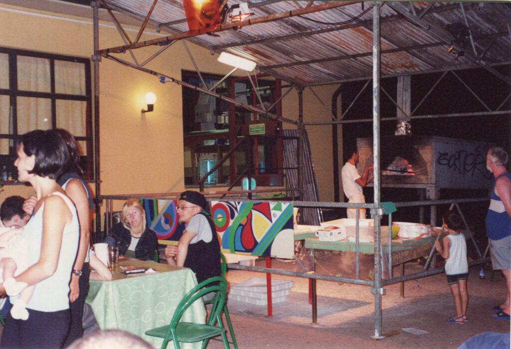 La vecchia pizzeria in terrazza