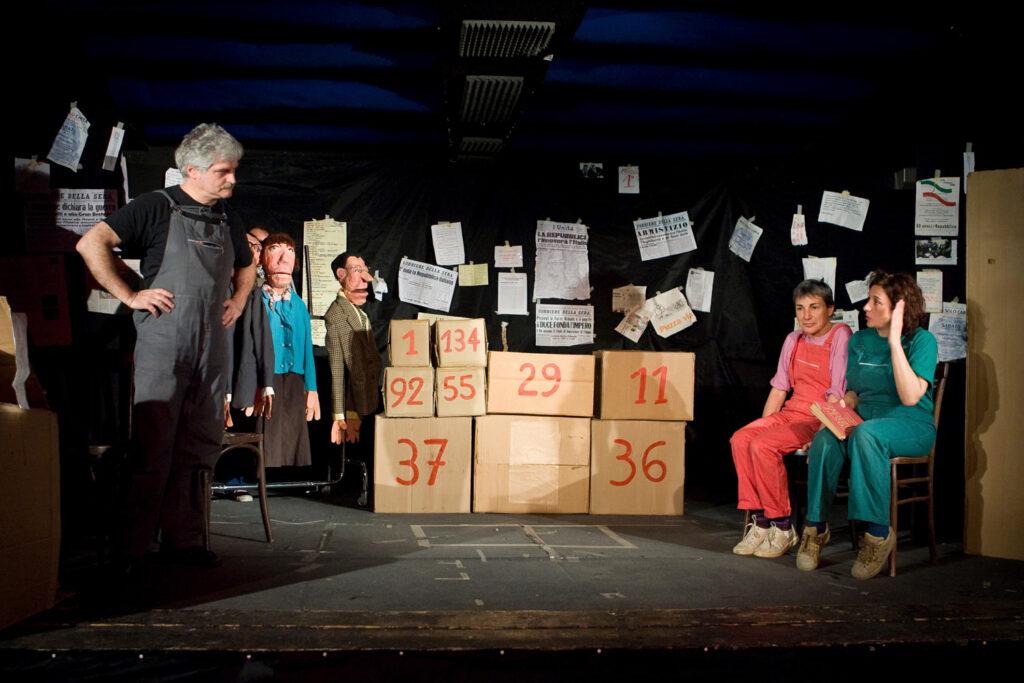 """Spettacolo di fine anno """"Non solo Carta"""". 2008"""
