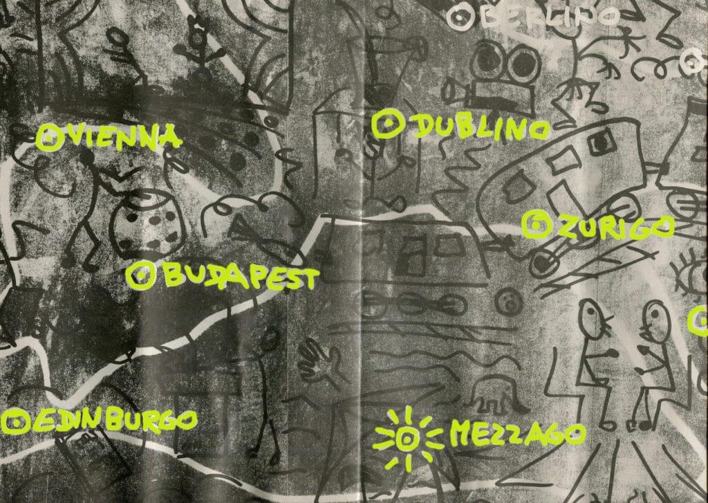Cartina di Trans Europe Halles