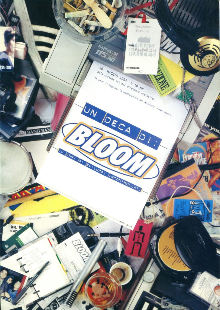 Un deca di Bloom. Manifesto per i 10 anni. 1997